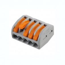 Соединитель монтажный универсальный 0,08-4мм2 , 32А , 5 проводов