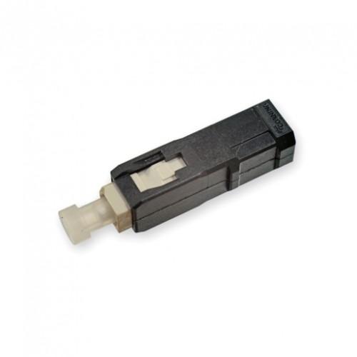 Коннектор Epoxy & Polish SC, MM (OM4+/OM4/OM3/OM2), черный