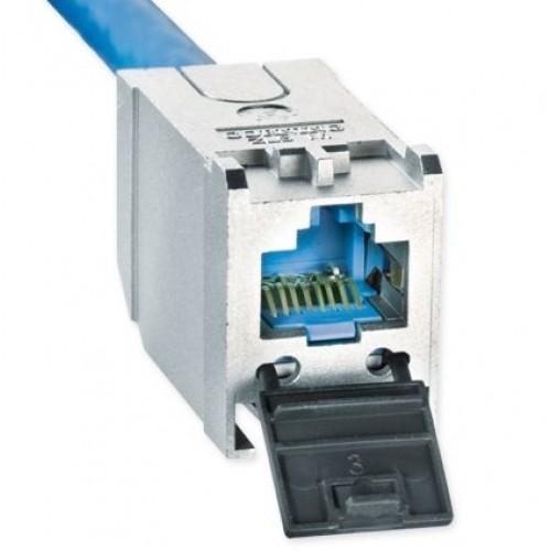 Модуль экранированный S500, 1xRJ45, FutureCom, кат.6a
