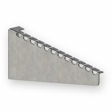 Кронштейн для сетчатого лотка 300 мм, 1,5 мм, оцинкованный