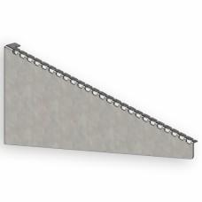 Кронштейн для сетчатого лотка 500 мм, 2 мм, оцинкованный