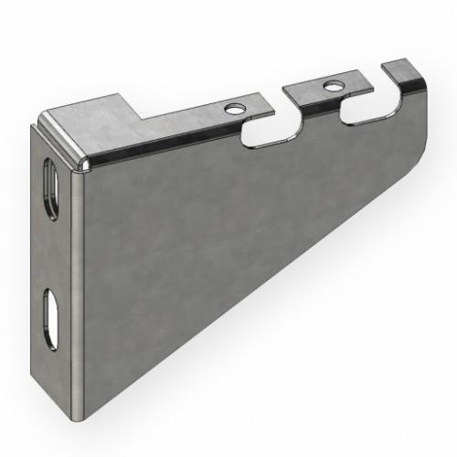 Кронштейн для сетчатого лотка 50 мм, 1,0 мм, оцинкованный