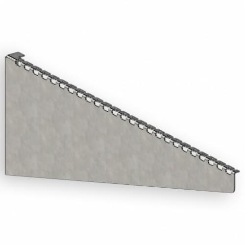 Кронштейн для сетчатого лотка 600 мм, 2 мм, оцинкованный