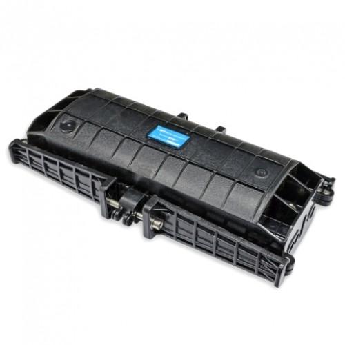 Муфта проходного типа, 6 мех. кабельных вводов, 4 сплайс-кассеты