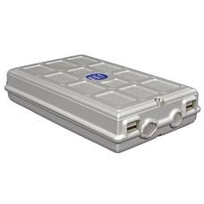 Настенный ВО бокс, на 2 сплайс-кассеты, 24 протект., 265мм x 153мм x 55 мм