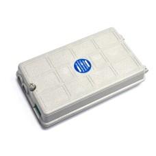 Настенный ВО бокс, на 1 сплайс-кассету,12 протект., 198мм x 112мм x 45 мм