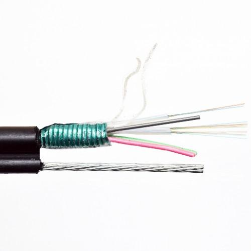 ВО кабель GYTS8S 16e9/125 (4+6+6), самонесущий, фигура 8