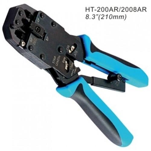 Инструмент для обжимания коннекторов 8C8P, 6PxC, 4PxC