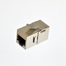 Соединитель витой пары FTP, кат. 6, под коннекторы RJ45, KeyStone