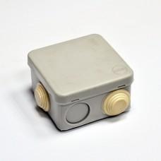 Коробка распределительная, наружная, пластиковая 70х70; 3;6 ввода IP55,без клем.