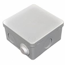 Коробка распределительная, наружная, пластиковая 90х90; 6 вводов IP55, без клем.