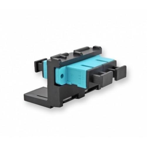 Модуль LANC 2ХSC MM (мультимод), металлическая втулка, для установки в розетку/патч-панель,(OM3/4)