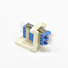 Модуль LANS LC Duplex SM (одномод) для установки в розетку/патч-панель