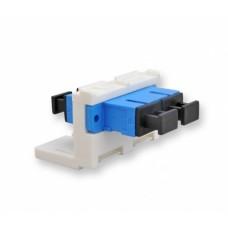 Модуль LANS 2ХSC SM (одномод) для установки в розетку/патч-панель