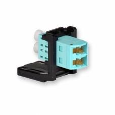 Модуль LANS LC Duplex MM для установки в розетку/патч-панель,(OM3/4)