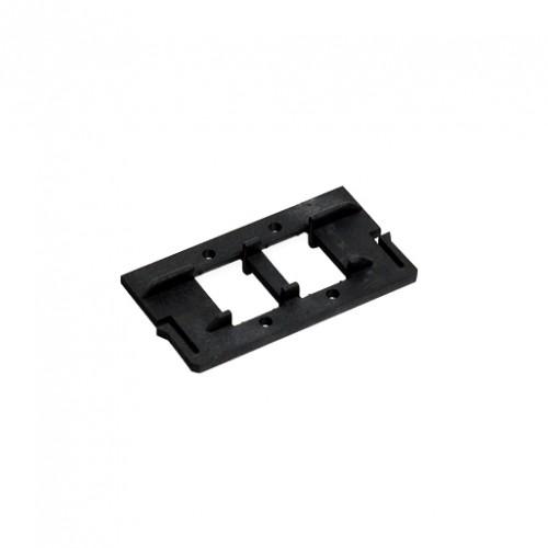 Крепление для установки в розетки ВО-2SC симплекс, 2LC дуплекс, 2E2000, 2MTRJ адаптеров.