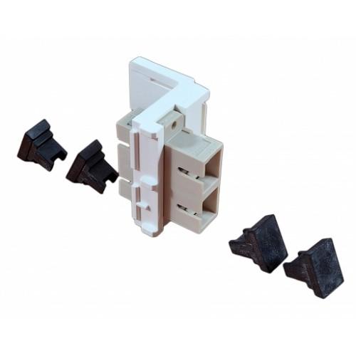 Модуль FutureLink 2ХSC MM (OM2) для установки в розетку/патч-панель