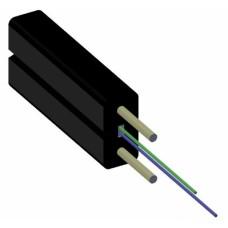 ВО кабель FTTH 2E9/125, G.657, внутренний, LSZH, силовой элемент проволка
