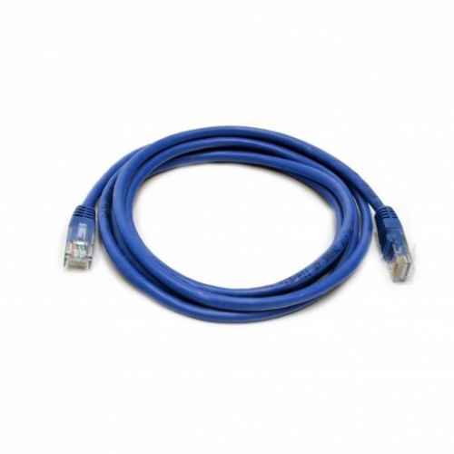 Патч-корд UTP, 0.5 м, кат. 5e, синий