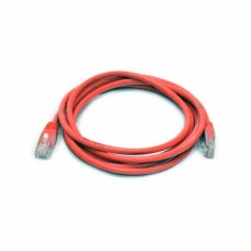 Патч-корд UTP, 0,5 м, кат. 5e, красный