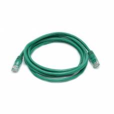 Патч-корд UTP, 2 м, кат. 5e, зеленый