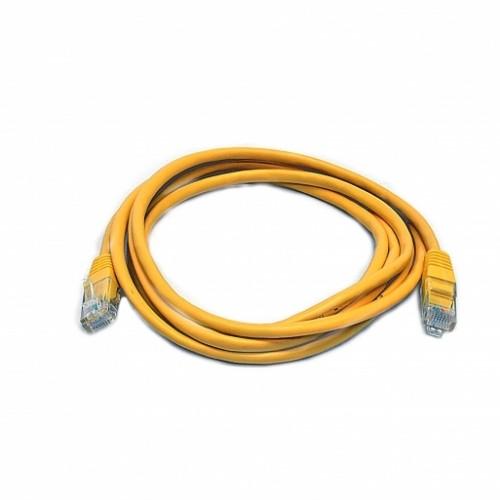 Патч-корд UTP, 2 м, кат. 5e, желтый