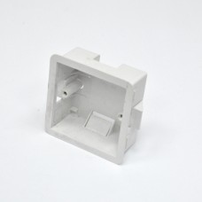 Подрозетник внутренний 1G для гипсокартона, глуб. 35 мм