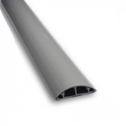 Короб напольный 90×19 мм, серый, 1 м