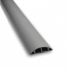Короб напольный 90×19 мм , серый , 2 м