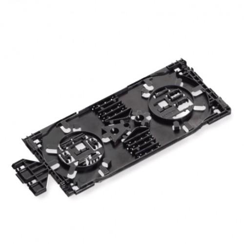 Сплайс-кассета MFT, интегр. держатели 24-х термоусадочных протекторов