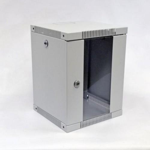 Шкаф 10″, 8U, 320х300х425 мм (Ш*Г*В), серый