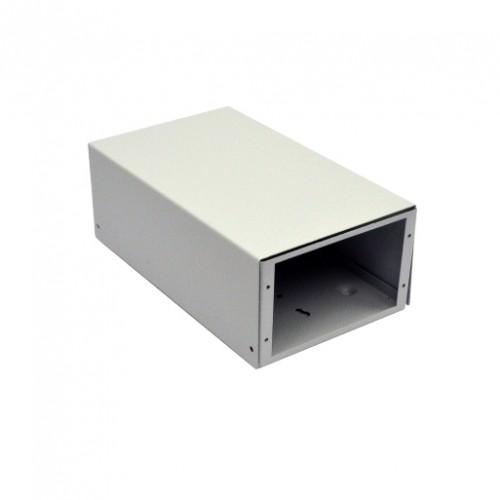ВО коробка для ВО соединений (4 х 16 SC/FC) без лицевой панели, пустая, серая.