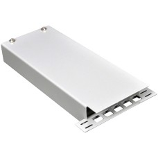 ВО бокс мини для 4 волокон с кабельным организатором,(200х80х28мм)