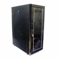 Шкаф 19″ 24U, 610х1055 мм (Ш*Г), усиленный, черный