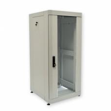 """Шкаф серверный 19"""" 24U, 610х675 мм (Ш*Г), усиленный, серый"""