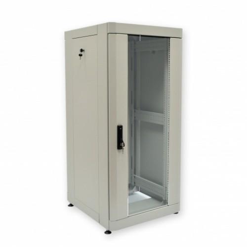 Шкаф 19″ 24U, 610х675 мм (Ш*Г), усиленный, серый