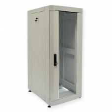 """Шкаф серверный 19"""" 28U, 610х865 мм (Ш*Г), усиленный, серый"""