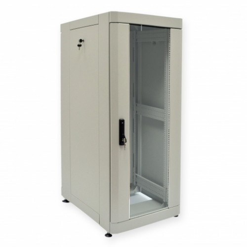 Шкаф 19″ 33U, 610х1055 мм (Ш*Г), усиленный, серый