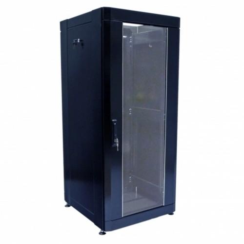 Шкаф 19″ 33U, 610х675 мм (Ш*Г), усиленный, черный