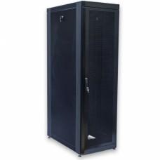 Шкаф 19″ 42U, 610х1055 мм (Ш*Г), черный, перфорированные двери (66%)