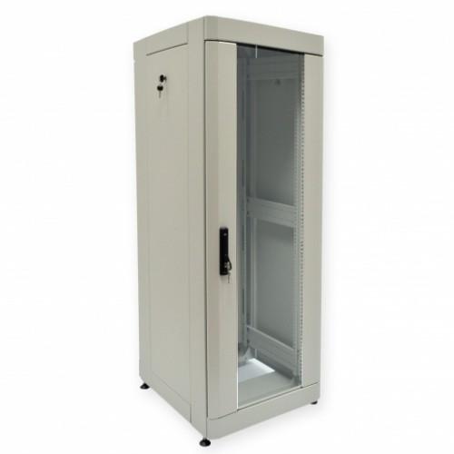 """Шкаф 19"""" 42U, 610х675 мм (Ш*Г), усиленный, серый"""