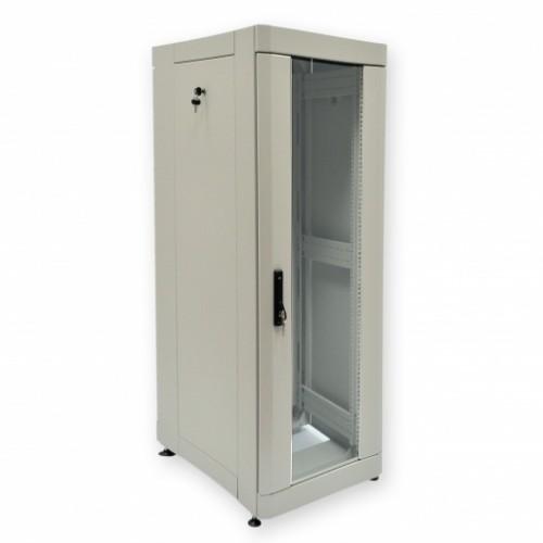 """Шкаф серверный 19"""" 42U, 610х865 мм (Ш*Г), усиленный, серый"""