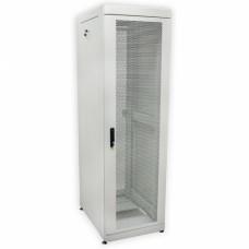 Шкаф 19″ 42U, 610х865 мм (Ш*Г), серый, перфорированные двери