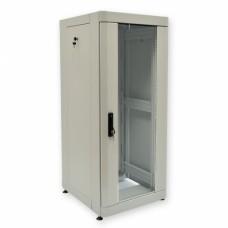 """Шкаф серверный 19"""" 42U, 800х1055 мм (Ш*Г), серый"""