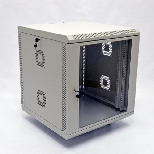 Шкаф 19″, 15U, 600х500х773мм (Ш*Г*В), акриловое стекло