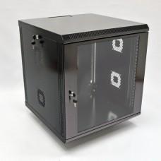 Шкаф серверный 12U, 600х600х640 мм (Ш*Г*В), акриловое стекло