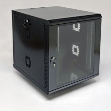 Шкаф серверный 12U, 600х700х640 мм (Ш*Г*В), акриловое стекло