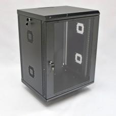 Шкаф серверный 15U, 600х500х773 мм (Ш*Г*В), акриловое стекло