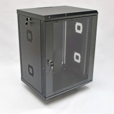Шкаф коммутационный 15U, 600х600х773 мм (Ш*Г*В), акриловое стекло