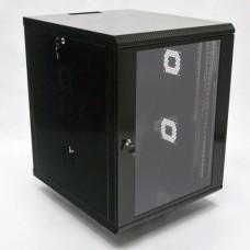 Шкаф коммутационный 15U, 600х700х773 мм (Ш*Г*В), акриловое стекло
